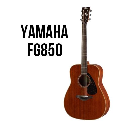 Yamaha FG850 Mahogany