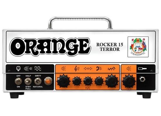 Orange Rocker 15 Tube Head