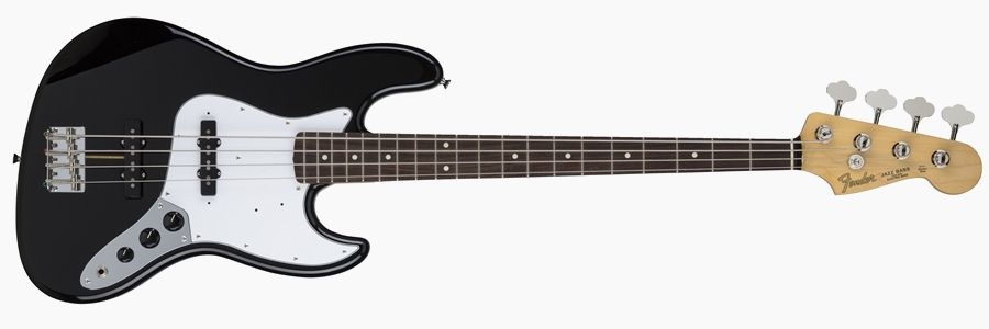 Fender Japan Hybrid 60s Jazz Bass Blackl