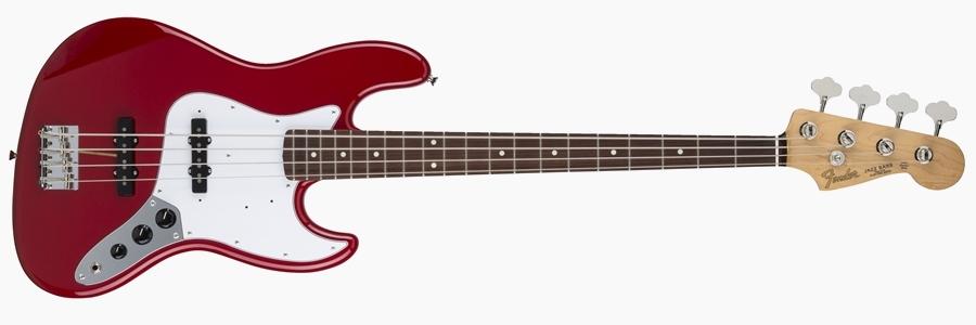 Fender Japan Hybrid 60s Jazz Bass Torino Red