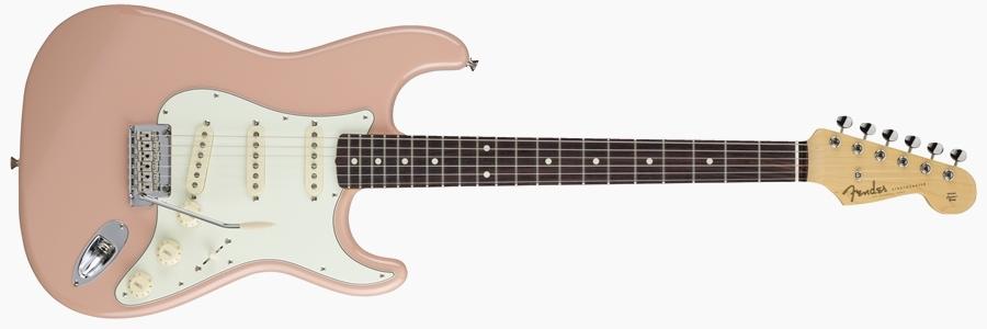 Fender Japan Hybrid 60s Stratocaster Flamingo Pink