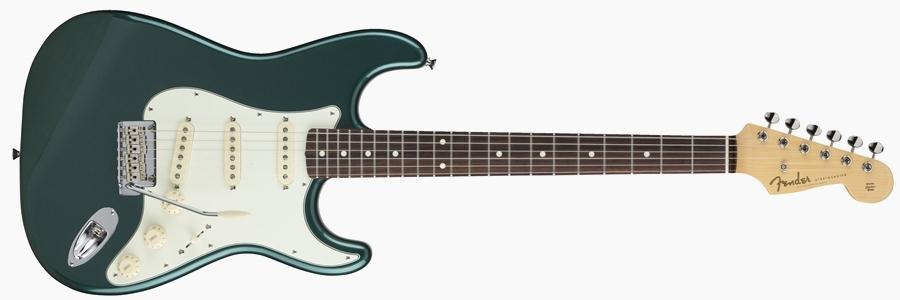 Fender Japan Hybrid 60s Stratocaster Sherwood Green Metallic