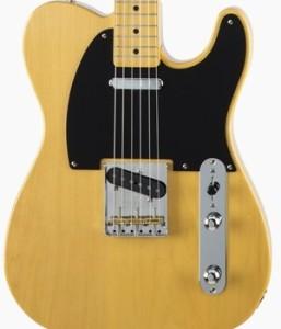 Fender Japan Traditional 50s' Telecaster Vintage Natural